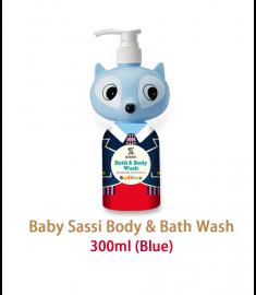 Sassi Baby Bath wash (Blue) 300ml