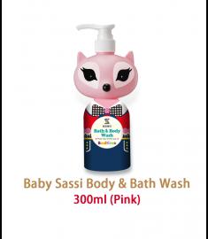 Sassi Baby Bath wash (PINK) 300ml