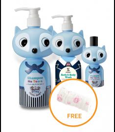 Sassi Baby Shampoo & Body Bath (Blue)