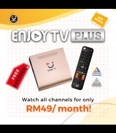 Enjoy TVPlus (First time registration)