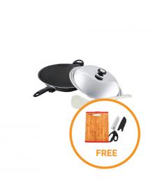 Silwa Durable Non-Stick Frying Wok