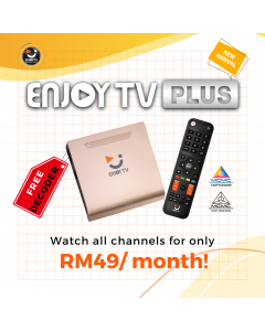 Enjoy TVPlus (First time registration)