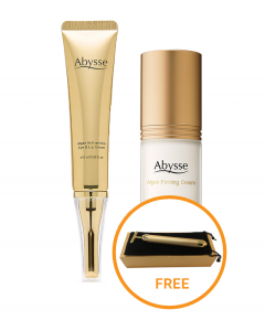 Abysse Algae Firming Cream + Algae Anti-wrinkle Eye & Lip Cream