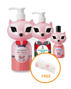Sassi Baby Shampoo & Body Bath (PINK)