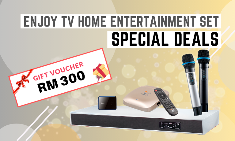 Enjoy TV Home Entertainment Set Special Deals!