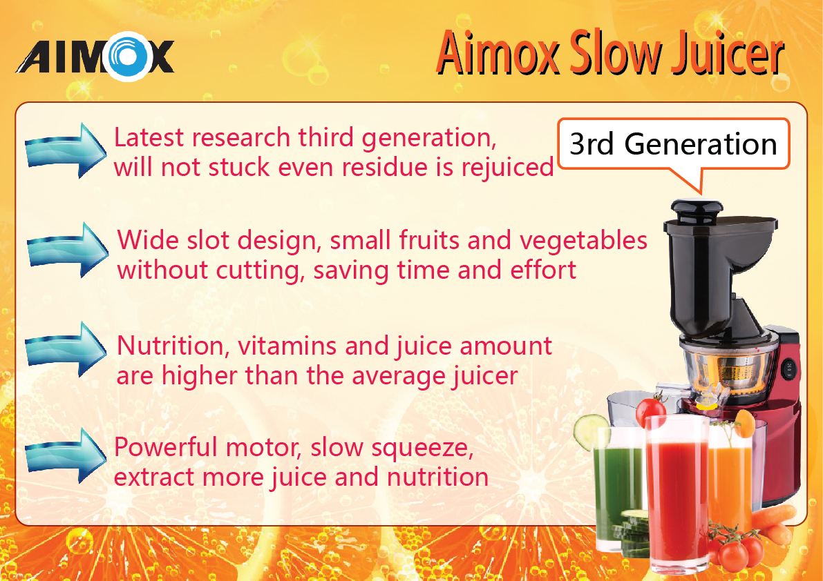 Aimox Slow Juicer Review : Aimox Slow Juicer